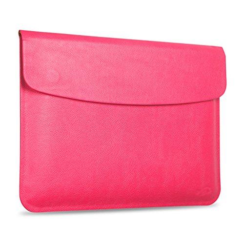 YiJee MacBook Air / Pro Laptop Hülle Notebook Tasche Schutzhülle Aktentasche 11.6 Zoll Rose