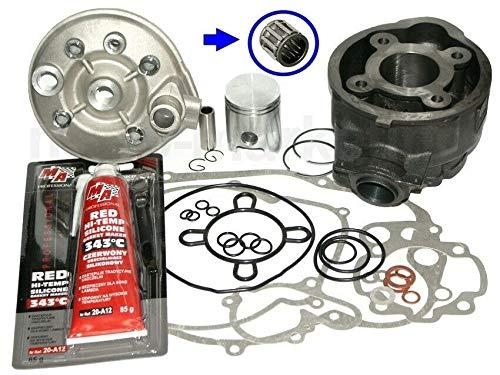Unbranded 50 Zylinder KIT 40,3mm KOLBEN DICHTUNGEN Kopf Set für Aprilia RS 50 EXTREMA AM6 Zylinderkit