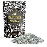 My Glitter Wall silberfarbener Glitzer für Dispersionsfarben, 150g, glitzernde Wanddekoration, perfekt für innen und außen