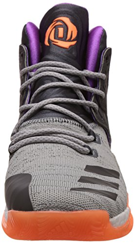 adidas D Rose 7 Primeknit Herren-Basketball Turnschuhe/Schuhe Grey