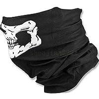 Crasy Shop Outdoor Seamless Skull Motorcycle Half Face Masks Sports  Balaclava Bandana for Motorcycle Cycling Snowboard 13eaf7800