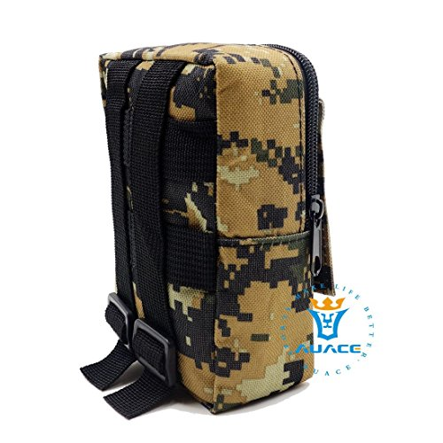 Multifunktions Survival Gear Tactical Beutel MOLLE Tasche Military erkunden Taille Pack, Outdoor Camping Tragbare Travel Bags Handtaschen Werkzeug Taschen Taille Tasche Handytasche DC
