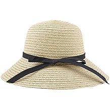 Cappello da Sole Cappello estivo Cappello di Paglia Cappello Panama Cappello  da Sole da donne con fe9521b22ff7