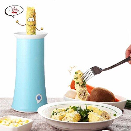 Vertikale Intelligente Frühlingsrollenmaschine Multifunktionsmaschine Wurstomelett Ist Eifrühstückschalen-Eivanillepudding Gebackene Ei-Frühstücksmaschine,Blue (Frische Frühlingsrollen)