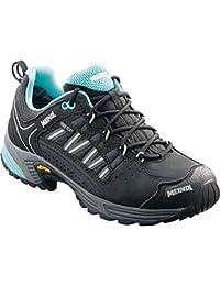 Meindl MUJER Trail Calzado exteriores Botas senderismo SX 1.1 Mujer GTX limón-negro