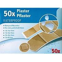 Comfort Aid Pflaster Wasserfest, klebt nicht auf Wunden, verschiedene Größen, 50Stück preisvergleich bei billige-tabletten.eu