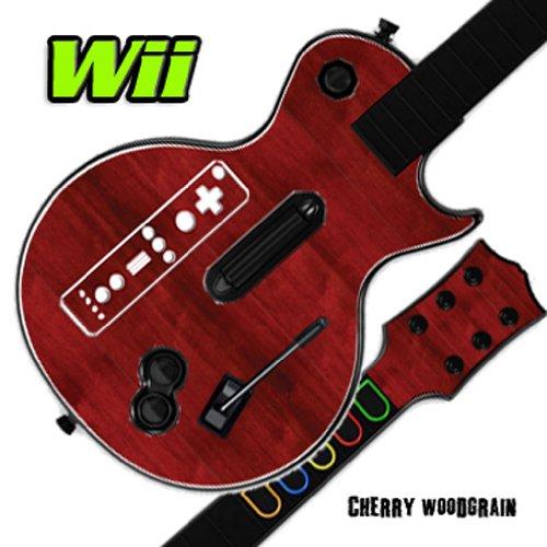 MightySkins Skin Sticker für Gitarrenhero, 100 Farben Kirsche Guitar Hero 3 Nintendo Wii -