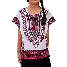 Berimaterry 2Y-7Y niños y niñas Camiseta de Estilo étnico de Estilo Africano. Sakkas