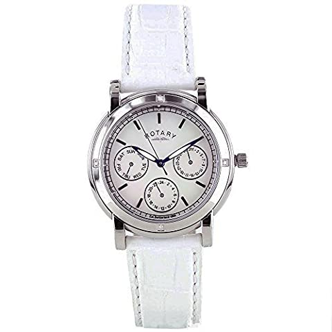 Rotary RLS00024-07 Ladies Diamond Set Pink Watch