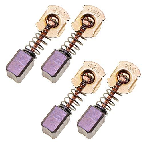 2 Cordless Hammer Drill (4er Kohlebürste CB-430 Für Makita 18 V LXT DGA452 DGA452Z 2 Paar Set)