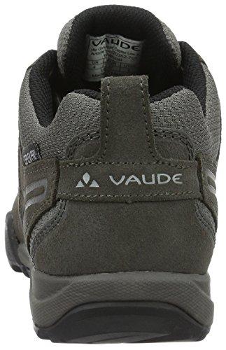 VAUDE Grounder Ceplex Low Ii, Scarpe Sportive Outdoor Donna Grigio (Charcoal 701)