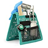 Mobiclinic Organizador Auxiliar de enfermería | Keen's Bata o Pijama | Diseño Exclusivo con Estampados en Color Verde | Amo la enfermería
