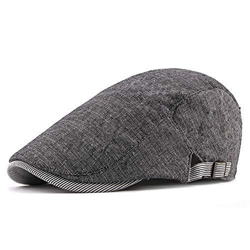 VISER Sommer im Freien Klassische Herren Vintage Mütze Zeitungsjunge Efeu Fahren Hut...