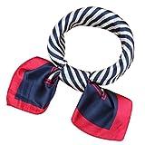 PB-SOAR Damen Halstuch Bandana Schal Kopftuch Nickituch 58 x 58cm, 23 Muster auswählbar (Muster 3)