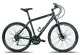 Legnano Ciclo 350 Sport Road, Bici da Trekking Uomo, Nero, 56