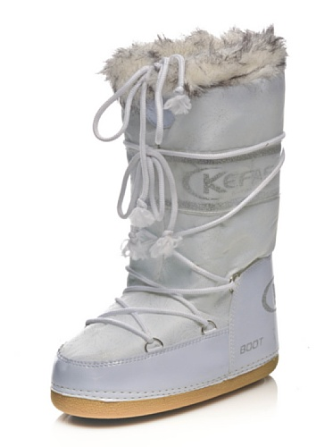 Kefas - Husky Glitter - Apres Ski Femme Blanc