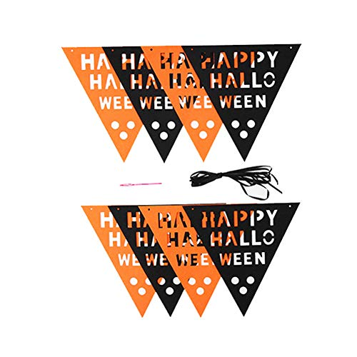 1 Set Halloween DIY Ziehen Sie Die Flagge Hängende Urlaubsparty Dekoration Ornamente