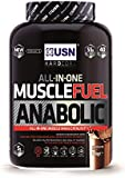USN Muscle Fuel Anabolic Lean Muscle Gain Shake Powder, Chocolate - 2 kg