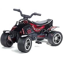 Falk Pirate Quad, quad per bimbi dai 3 ai 7 anni; colore: nero