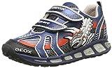 Geox Shuttle B A, Jungen Sneakers, Blau (c0673), 33 EU