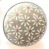 Set von 6Keramik Knöpfe von französischen Möbelbeschläge (FFF)–Küche Kabinett Knöpfe, Möbel Schublade Griffe–Porzellan grau daisy- 38mm Vintage Shabby Chic von FFF