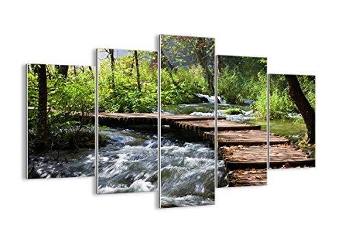 Bild auf Glas - Glasbilder - fünf Teile - Breite: 150cm, Höhe: 100cm - Bildnummer 0356 -...
