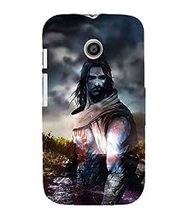 Shiva 3D Hard Polycarbonate Designer Back Case Cover for Motorola Moto E (1st Gen) :: Motorola Moto E XT1021 :: Motorola Moto E Dual SIM :: Motorola Moto E Dual SIM XT1022 :: Motorola Moto E Dual TV XT1025