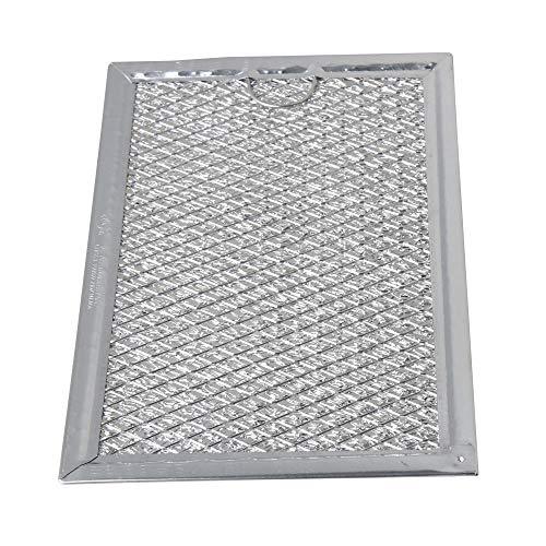 Abzugshaube Mikrowelle (Aktivkohlefilter Filter passend für diverse Dunstabzugshaube Abzugshaube Mikrowelle Haube aus dem Hause Filter Fettfilter Aluminium Ersatz für Filter (19.3x12.8x0.2cm / 7.60x5.04x0.08inch (LxBxH)))