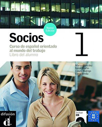 Socios. Libro del alumno. Per gli Ist. professionali per i servizi commerciali. Con CD Audio: 1