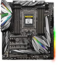 MSI MEG X399 CREATION Scheda Madre DDR4, SATA3, Dual GbE/ac WiFi, USB3.1