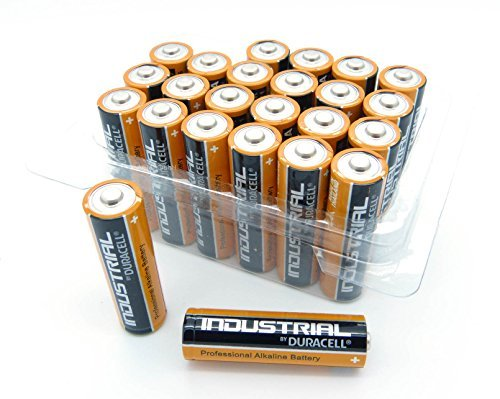 Duracell Industrial Mignon Lot de 24 piles alcalines AA 400 MN1500