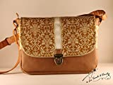 Sac'Middle' Baroque ocre jaune Sac'Middle' La Touch' d'Emilie