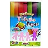 Seidenpapier A4 - 80 Blatt - Verschiedene Farben