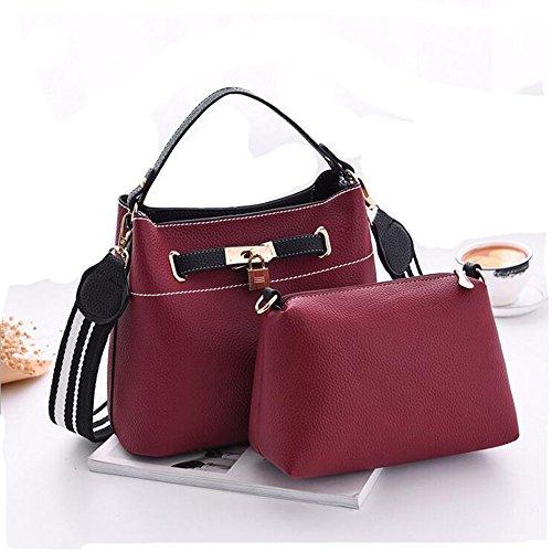 mxgirls Handtaschen Damen,Damen Handtaschen Umhängetasche Taschen Handtasche Shopper Fuchsie