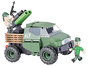 COBI- Small Army-4wd PickupArmoured Truck (140 Pcs) Juguete, (2160)