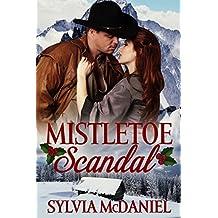 Mistletoe Scandal: Western Historical Christmas Romance (English Edition)