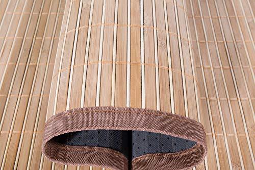 Andiamo Alfombra de bambú ecológica 70 x 200 cm