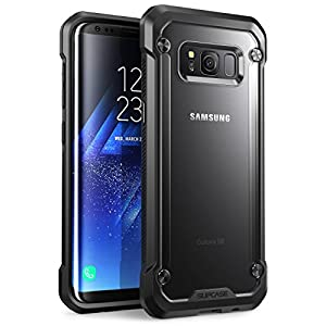 SUPCASE Unicorn Beetle Series Premium Hybrid Protective Case Cover for Samsung Galaxy S8 (Frost/Black)
