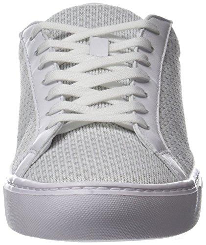 Lacoste L.12.12 Léger 118 1 Cam, Sneaker Uomo Bianco (wht / Lt Gry)