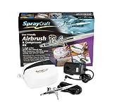 Best Los kits del aerógrafo - Spraycraft - Kit de aerógrafo y compresor Review