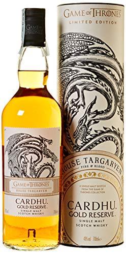 Cardhu Gold Reserve - House Targaryen Whisky Single Malt - 700 ml