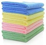 Skycandle Microfiber Cloth Set Of 8 Multicolor - Best Reviews Guide