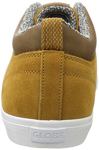Globe GS Chukka, Unisex-Erwachsene Sneaker Braun (Dark Caramel/White)