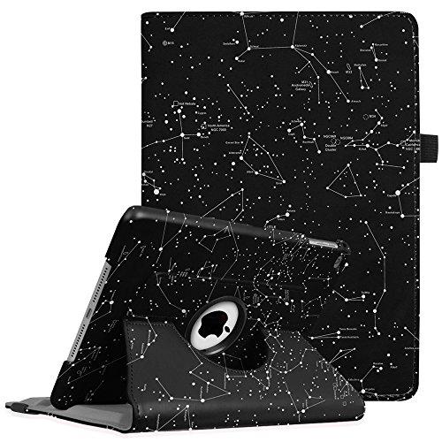 Fintie iPad 9.7 Zoll 2018 2017 / iPad Air Hülle - 360 Grad Rotierend Stand Cover Case Schutzhülle mit Auto Schlaf/Wach Funktion für Apple iPad 9,7'' 2018 2017 / iPad Air 2 / iPad Air, Sternbild
