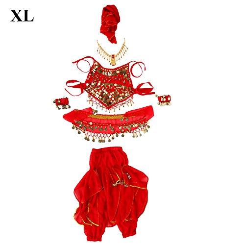 Mädchen tanzen Kostüm, 4 Größen modischen Bauch Lange Hosen Hosen Zubehör - Baby Bauch Tanzen Kostüm