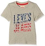 Levi's Kids SS Tee Fly, T-Shirt Garçon, Gris (Grey Mélange 20), 16 Ans (Taille Fabricant: 16A)