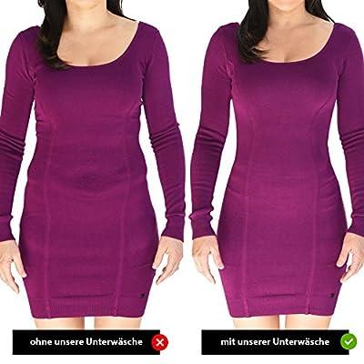 8263f073d873d4 Damen figurenformend Miederslip mit Bauch-Weg-Effekt Stark Formend  Miederpants Miederhose Body Shapewear Bauchweg Unterwäsche