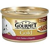 Purina Gourmet Gold Bocaditos en Salsa con Pollo e Hígado 85g