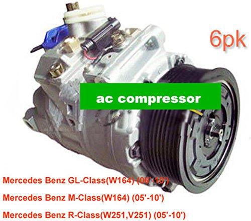 GOWE AC Compresor para Denso 7seu17C AC Compresor para coche mercedesbenz W164W251V2512005-201000123083110012308811447150-4000