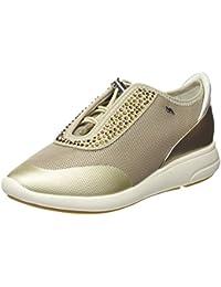 Amazon.it  GEOX - Oro   Sneaker   Scarpe da donna  Scarpe e borse 6ba4f259e66